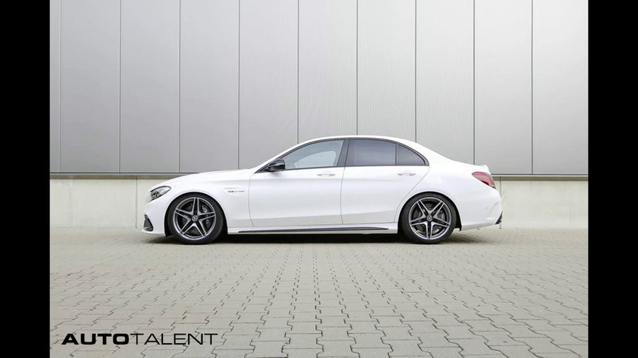 H&R Sport Lowering Springs - W205 Mercedes C63 C63s AMG Sedan 2015 + - autotalent