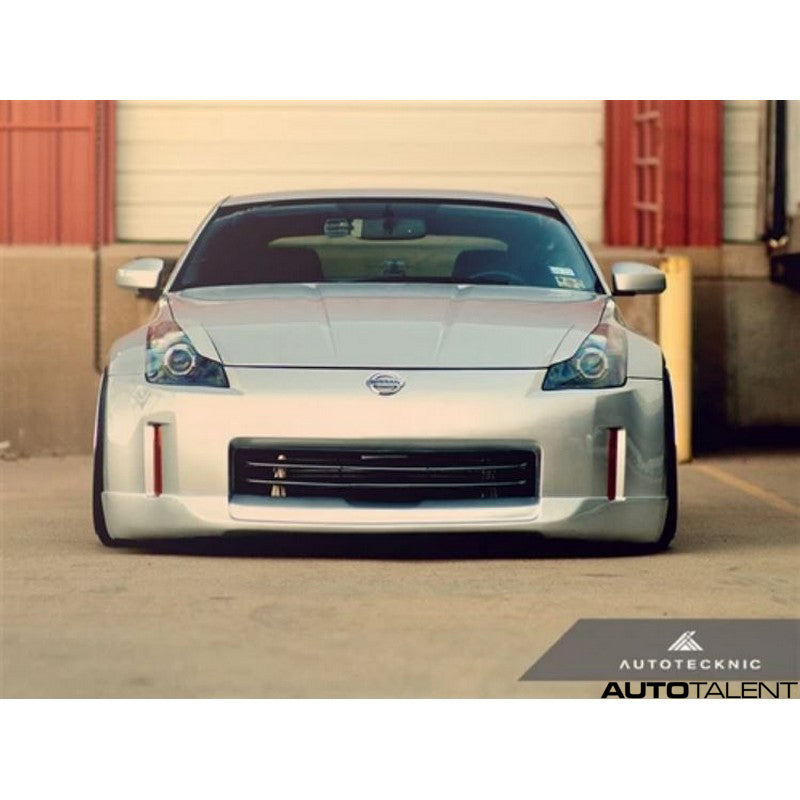 Autotecknic Aero Abs Painted Headlight Covers For Nissan 350Z 2003-2008