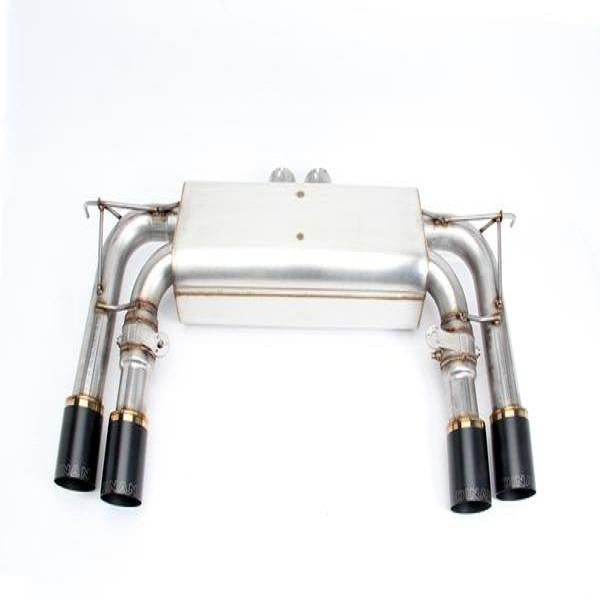 Dinan Free Flow Stainless Exhaust with Black Tips for BMW F85 X5M F86 X6M