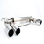 Dinan Free Flow Stainless Exhaust with Polished Tips for BMW F85 X5M F86 X6M