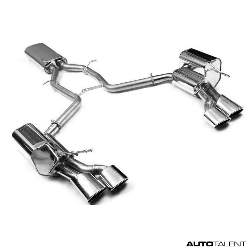 Eisenmann Cat-back Exhaust System - Mercedes SL55 AMG R230 2003-2006