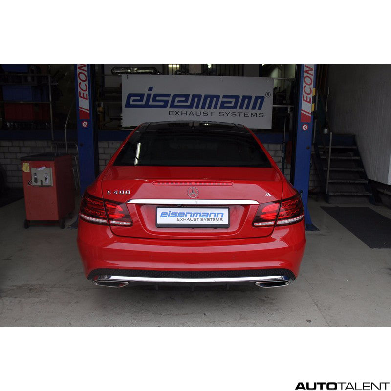 Eisenmann Cat-back Exhaust System - Mercedes E400 Coupe, Cabrio E207 2011-2014