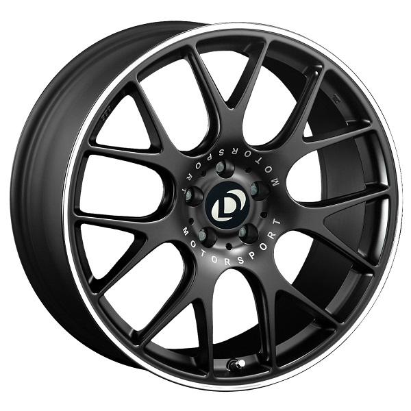 Black 19 inch BBS CH-R Wheel Set with Dinan logo center cap