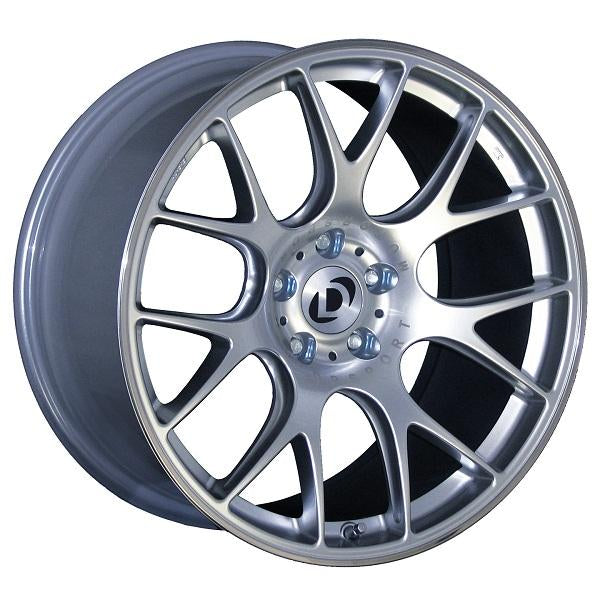 Silver 19 inch BBS CH-R Wheel Set with Dinan logo center cap