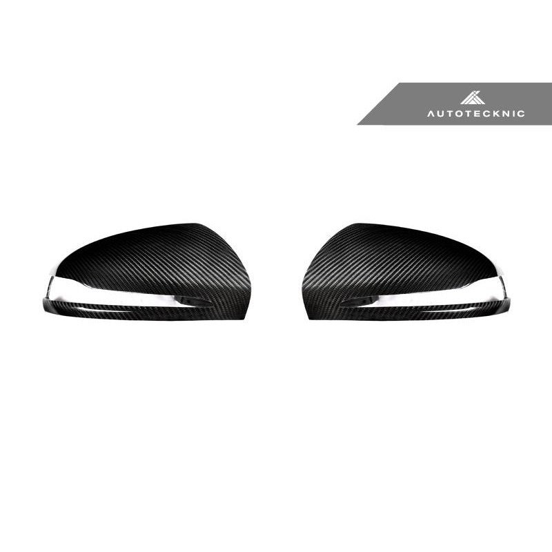 AutoTecknic Aero Version II Dry Carbon Mirror Covers For Mercedes-Benz C Class W205