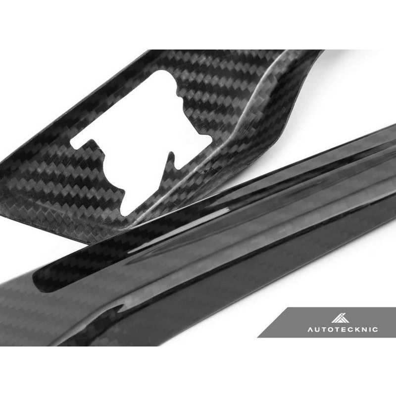 AutoTecknic Aero Carbon Fender Trims For Nissan R35 GTR - AutoTalent