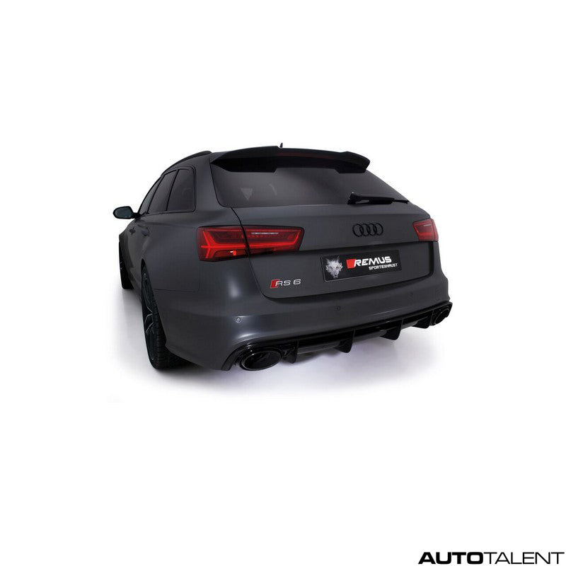 Remus Axle-Back Exhaust System - AUDI RS6 C7 Avant 4G / RS7 Sportback 4G, 2013