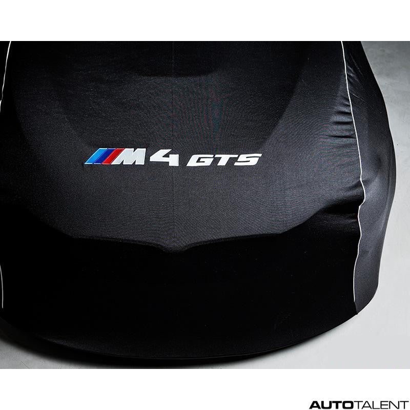 RKP Car Cover Black with White lettering - BMW M4 GTS 2016-2019