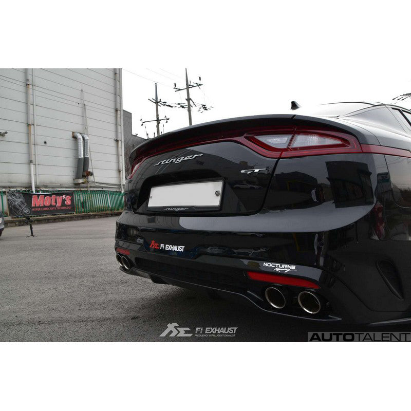 Fi Exhaust Valvetronic Cat-Back Exhaust System For Kia Stinger GT - AutoTalent