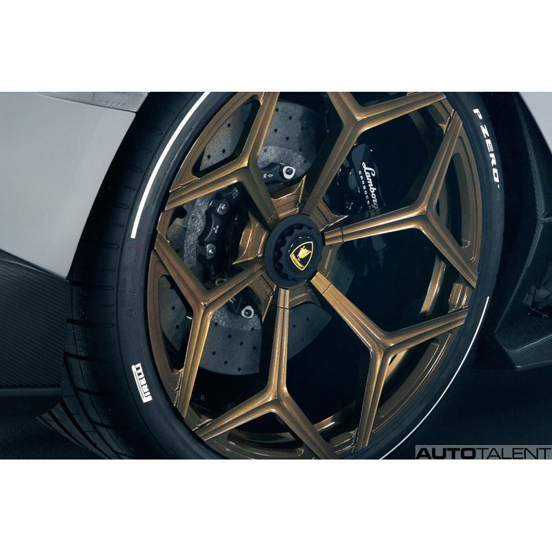 Novitec NL3 Rear Axle 12x21 Forged Wheel For Lamborghini Huracan Performante 2018-2019