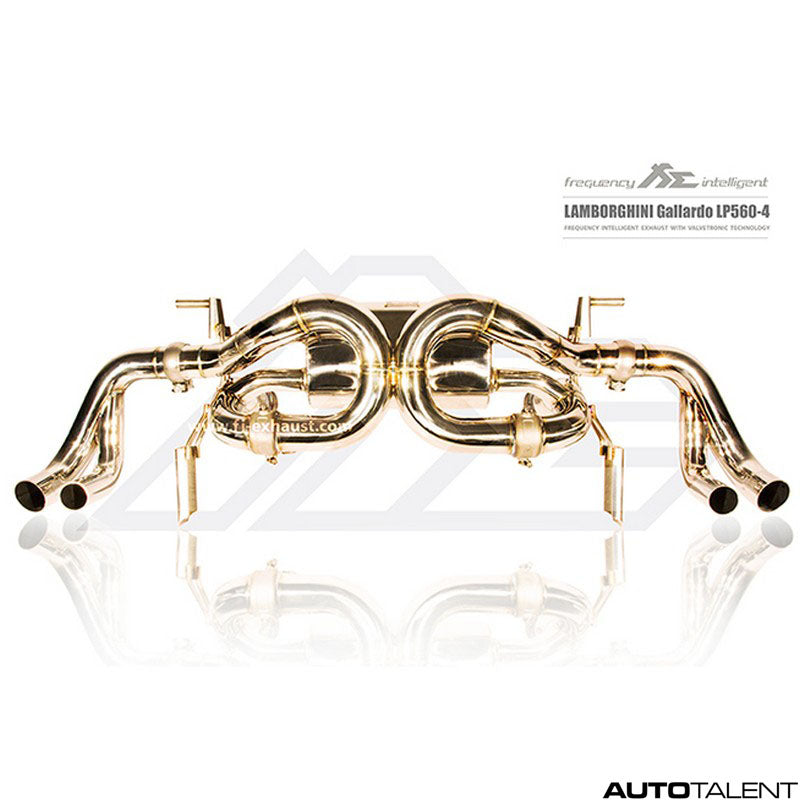 FI Exhaust Valvetronic Cat-Back System - Lamborghini Gallardo LP570-4 Ultimate Titanium 2008-2014