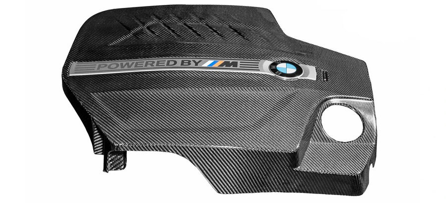 Eventuri Black Carbon Fiber Engine Cover - BMW M2 (F87) - autotalent