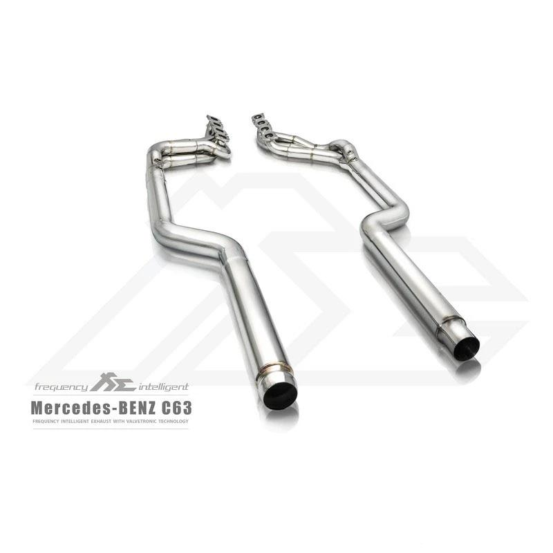 FI Exhaust Valvetronic Cat-Back System For Mercedes-Benz W204 AMG C63 2007-2013