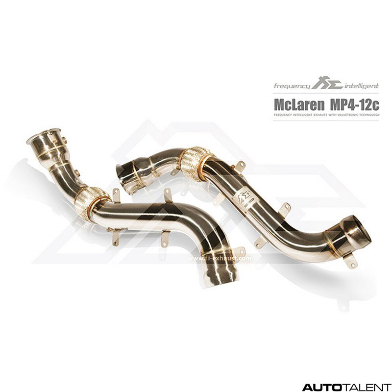 FI Exhaust Valvetronic Cat-Back System - McLaren MP4-12C 2011-2014
