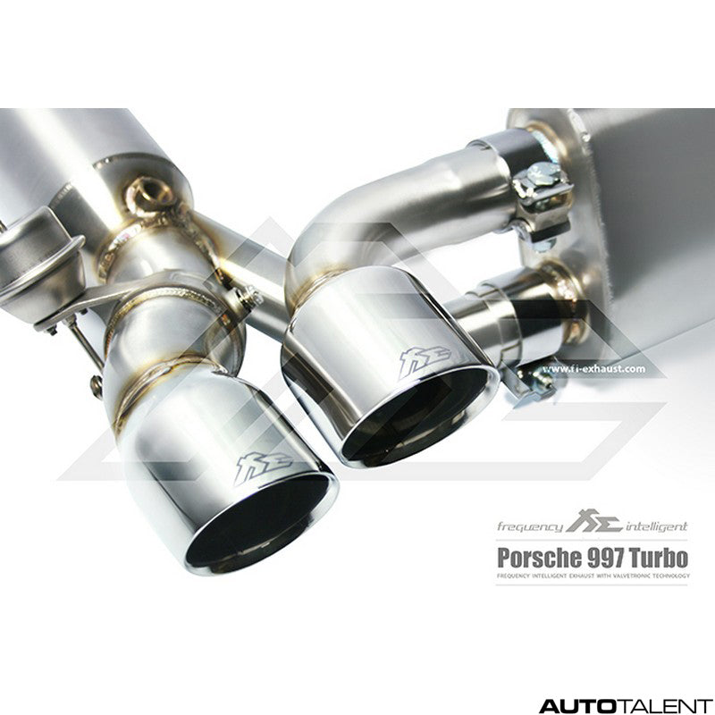 FI Exhaust Valvetronic Cat-Back System - Porsche 997.1 Turbo 2005-2009