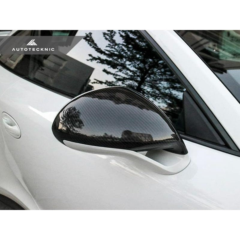AutoTecknic Aero Carbon Mirror Covers For Porsche 981 Cayman GT4