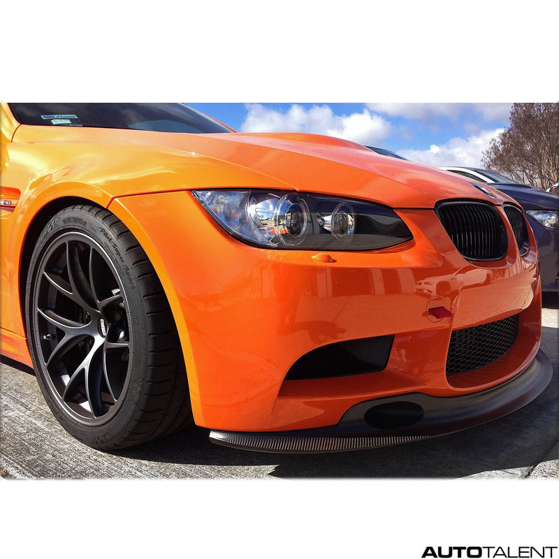 RKP Shorty Front Lip With Ducts 2x2 Weave - Bmw E9x M3 Clubsport 2008-2013