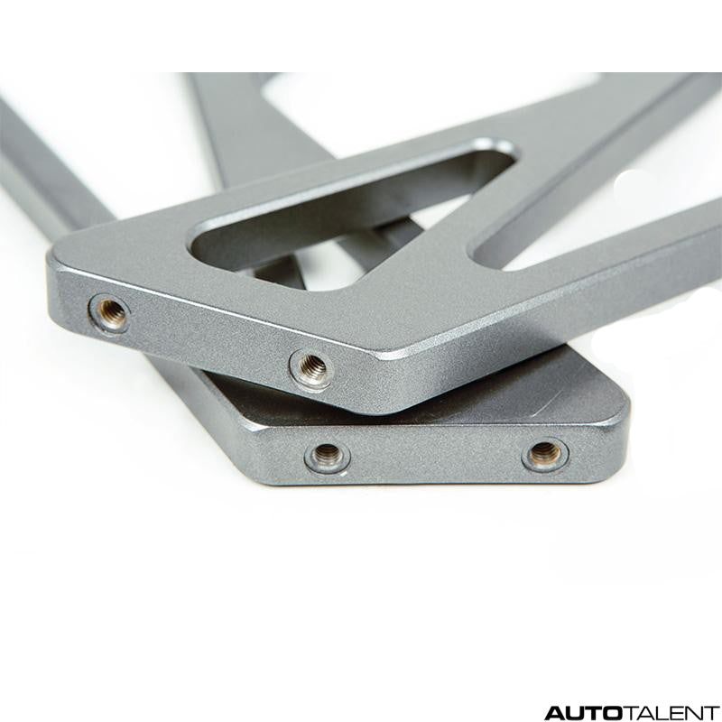 RKP High Wing Mount Set Frozen Grey - BMW M4 GTS 2015-2019