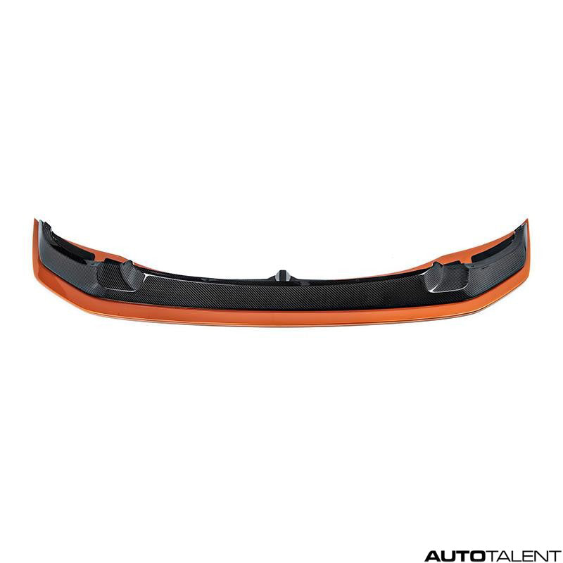 RKP Lower Splitter Only Painted Acid Orange - BMW F8x M3,M4 GTS 2015-2019 - autotalent