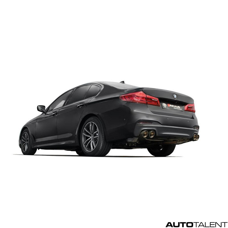 Remus Rear Diffuser - BMW 5 Series G30 Sedan 550i, 2017