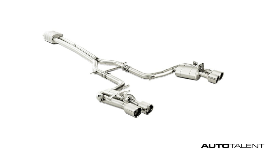 Akrapovic Evolution Line (Titanium) - Porsche Panamera Turbo S (970), 2014-2015 | Auto Talent