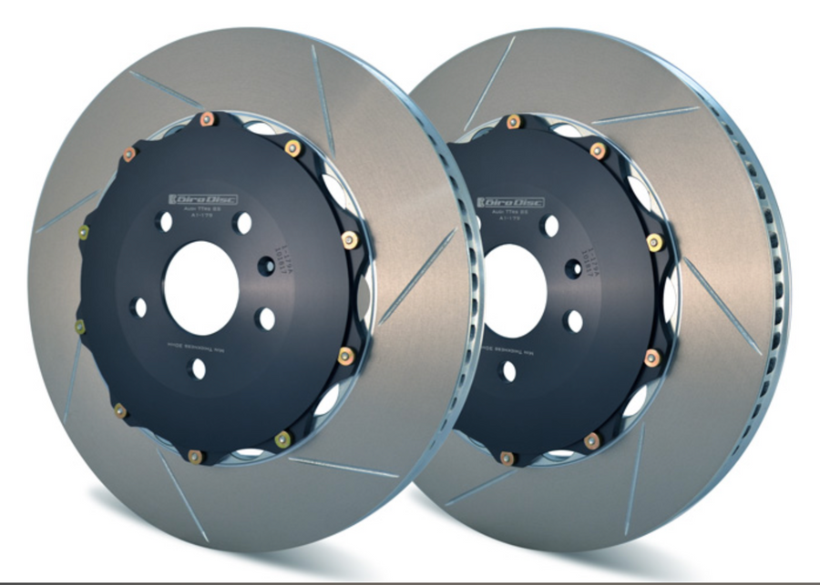 Girodisc Front 2 Piece Floating Rotors - Audi 8S TTRS 2016+