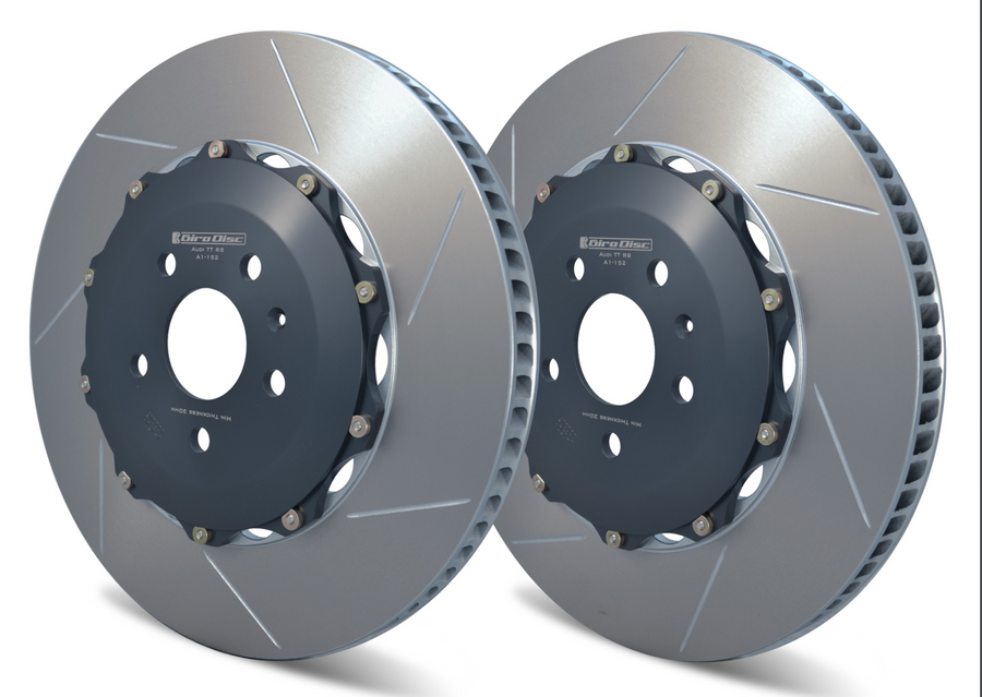 Front Replacement Girodisct Rotors Audi TTRS 8J 2012 2013 2014