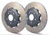 Pair of Rear Rotors for Audi B8 S4 and S5 Girodisc Brand