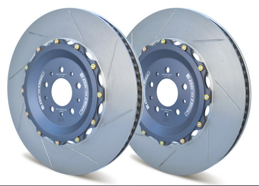 Girodisc Front 2 Piece Floating Rotors for Ferrari 599 GTB with Optional CCM Rotors 2007 - 2012