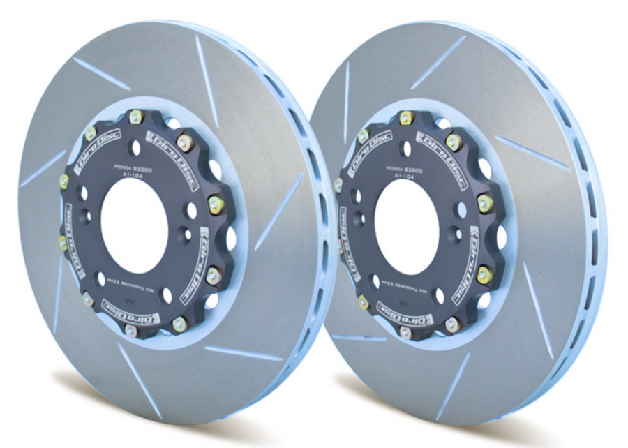 S2000 Replacement Rotors (Pair) from Girodisc Front