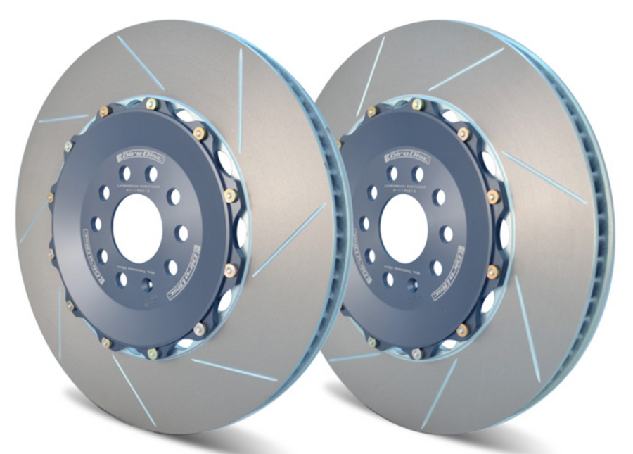 Girodisc Rear 2 Piece Rotors for Lamborghini Aventador