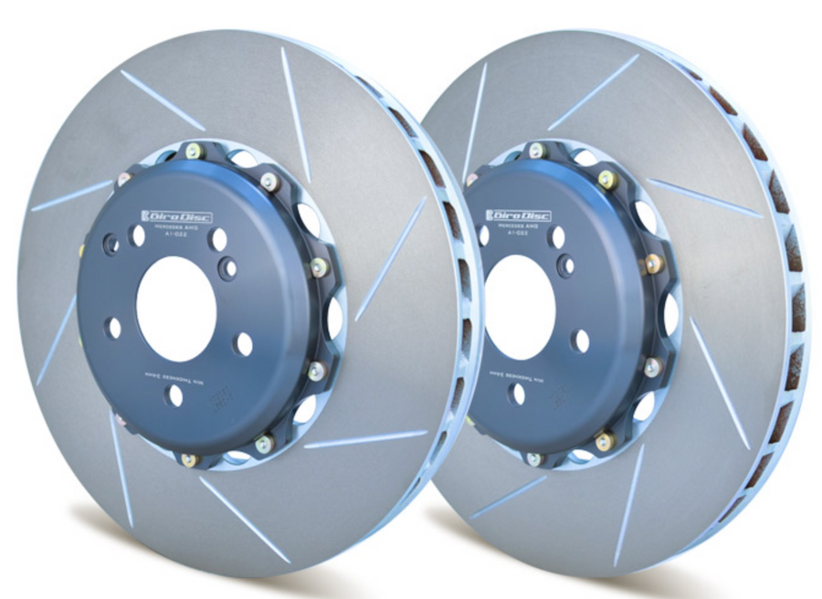 Girodisc Front 360mm 2 Piece Rotors for Mercedes W204 C63 AMG 2008-2012
