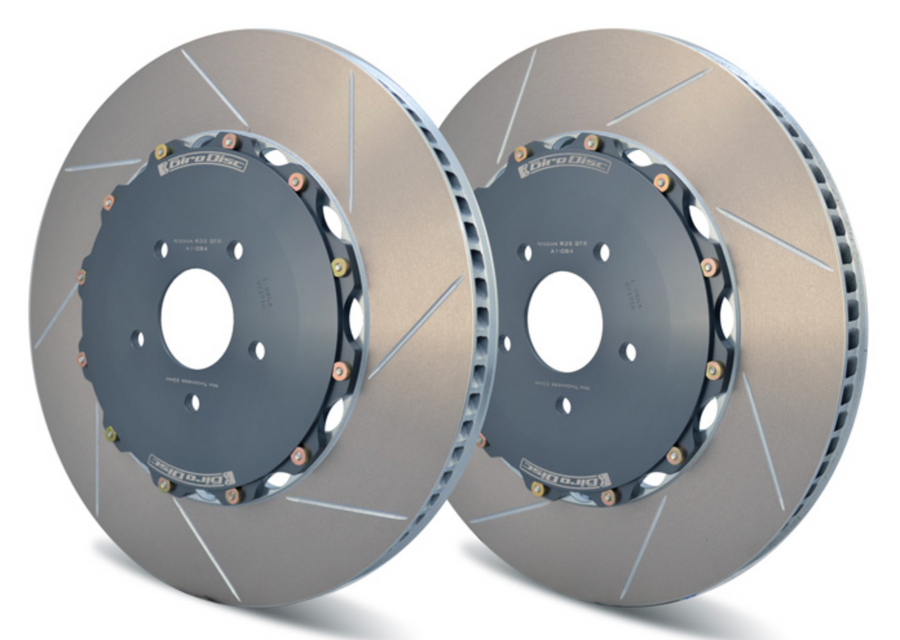 Girodisc Rear 2 Piece Rotors for R35 Nissan GT-R 2009 +