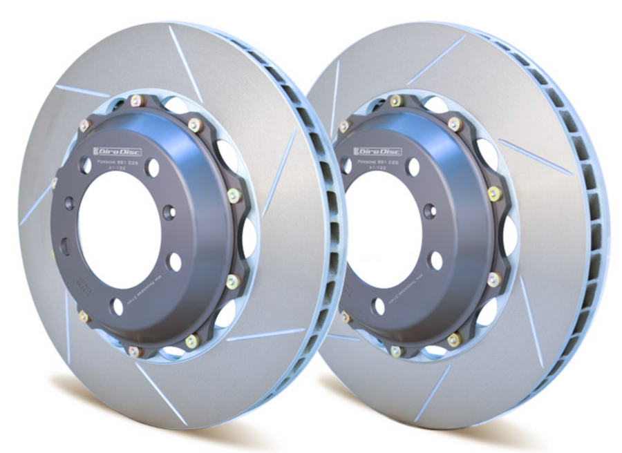 Girodisc Replacement rotors pair for Carrera S Porsche 991 991.2