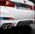 BMW F90 M5 M Performance Carbon Fiber Diffuser 2018 +