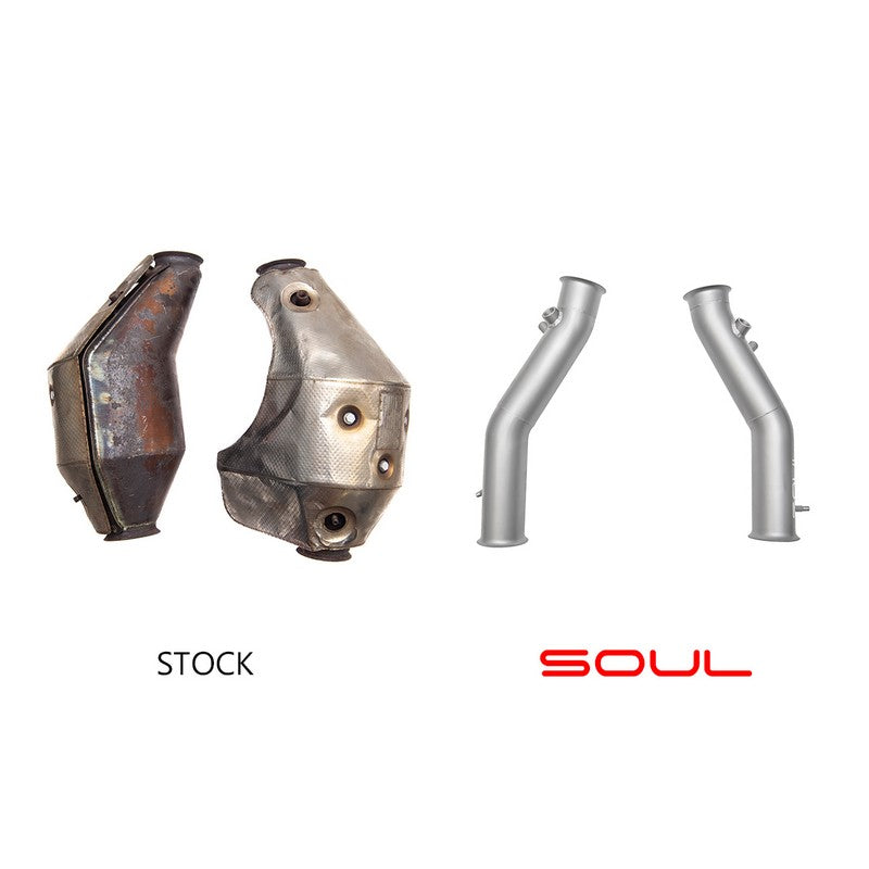 Soul Performance Competition Exhaust Package For Lamborghini Gallardo