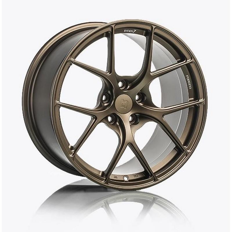 Titan 7 17 Inch T-R10 Techna Bronze Forged Wheels For Honda S2000 - AutoTalent