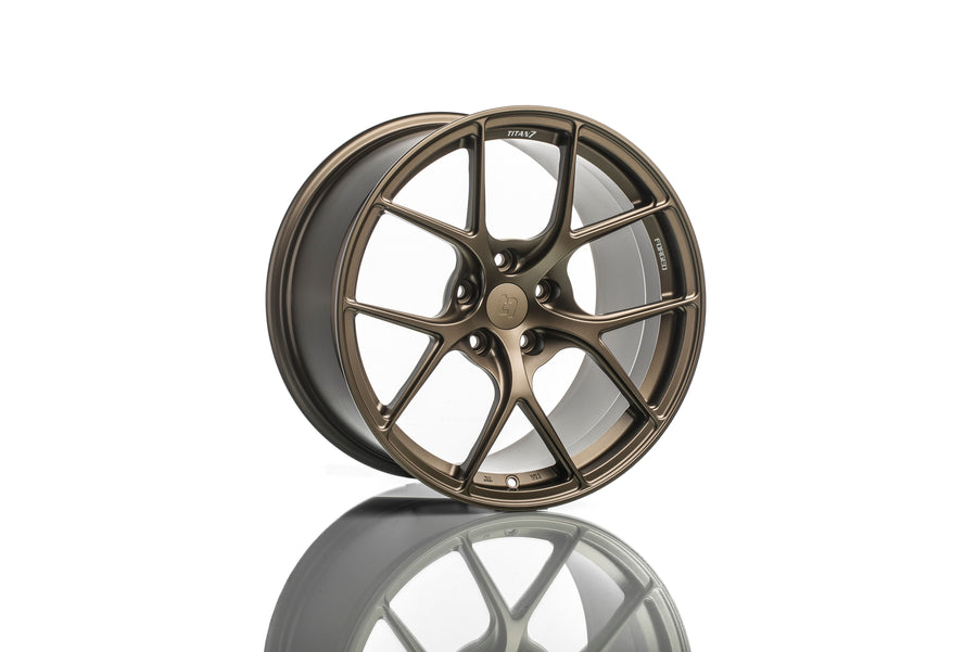Titan 7 19 Inch T-S5 Forged Wheels - Techna Bronze for Toyota Supra A90
