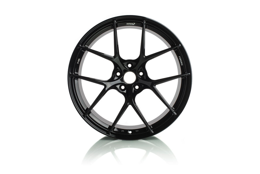 Titan 7 20 Inch T-S5 Forged Wheels - Wicked Black for Toyota Supra A90