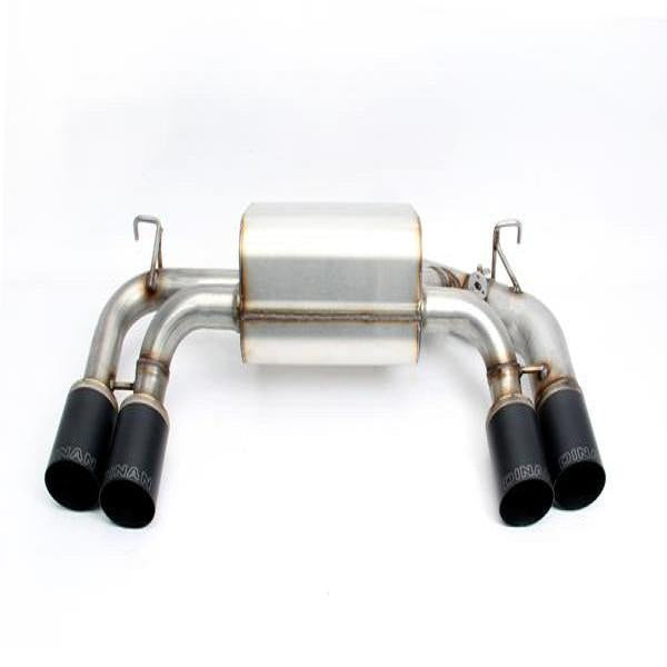 Dinan Free Flow Stainless Exhaust with Black Tips for BMW F87 M2