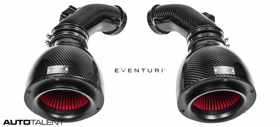 Eventuri Full Black Carbon Fiber Intake - BMW M6 F13