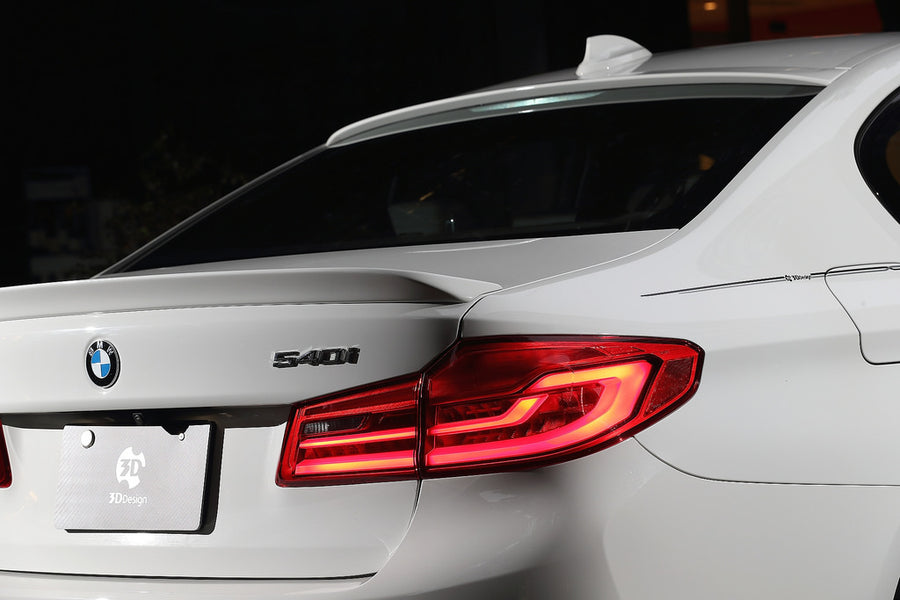 3D DESIGN G30 5 SERIES / F90 M5 TRUNK SPOILER