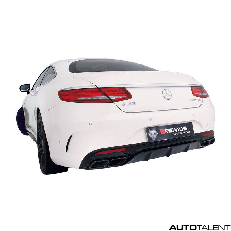 Remus Cat-Back Exhaust System - MERCEDES BENZ S63 AMG Coupe Type 217, 2015