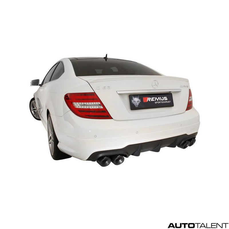 Remus Cat-Back Exhaust System For Mercedes Benz C63 AMG W/S 204 2011
