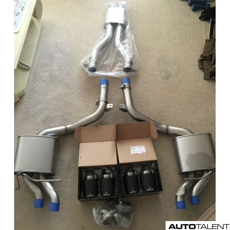 Remus Cat-Back Exhaust System - MERCEDES BENZ C63 AMG Type W/S 204, 2011