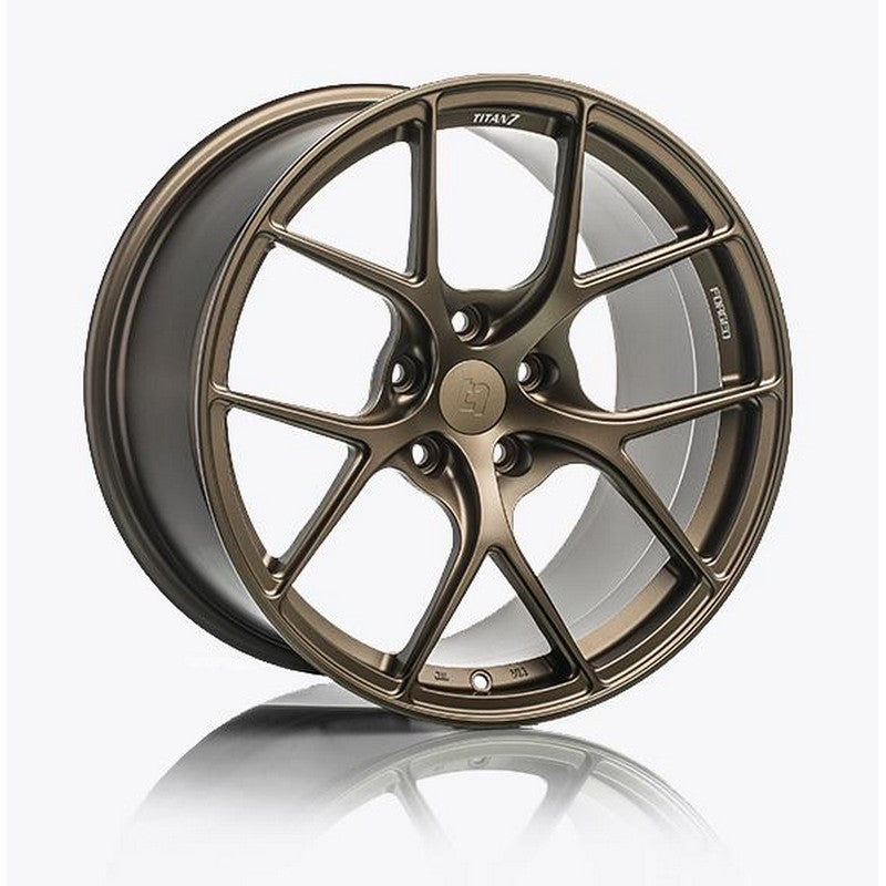 Titan 7 T-S5 Techna Bronze Forged Wheels For Acura NSX NC1