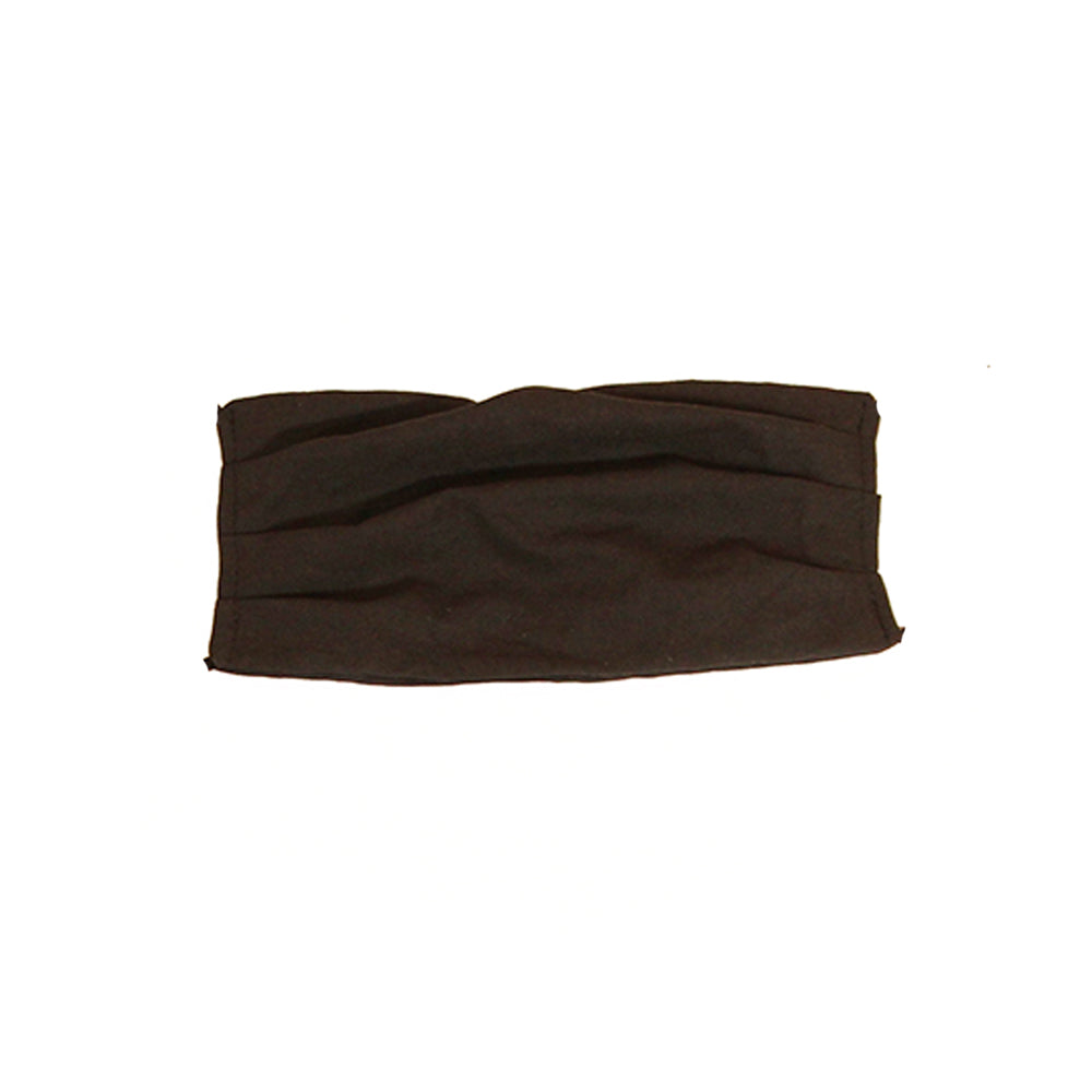 Child Solid Black Cotton Mask