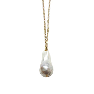 Baroque Pearl Necklace | Malibu Beach