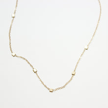 Floating Bead Gold Fill Choker