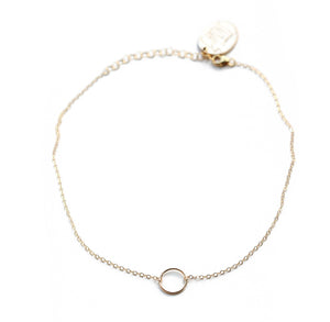Gold Fill Circle Choker